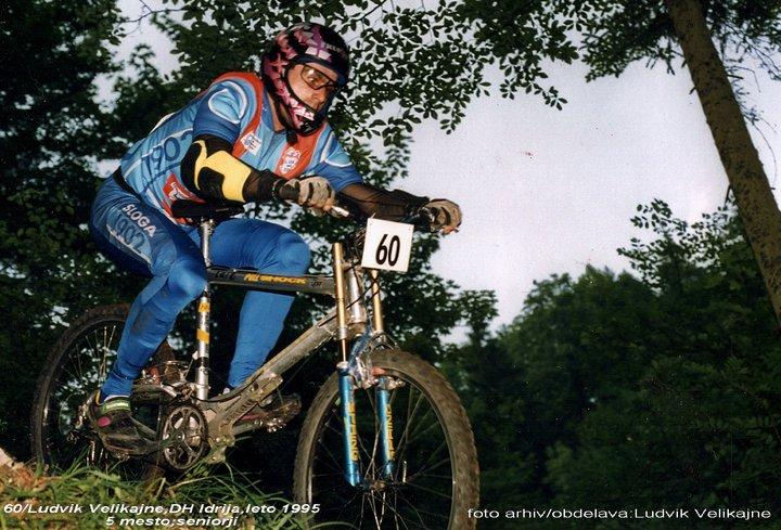 Downhill Idrija 1995